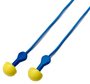 3M™ E-A-R™ EXPRESS™ Pod Plugs™ Earplugs 311-1114, Corded, Blue Grips, Pillow Pack