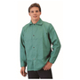 RADNOR® 3X Green Cotton/Westex® FR-7A® Flame Resistant Jacket With Snap Front Closure